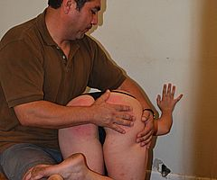 Caras First Spanking - Her First Punishment Pain